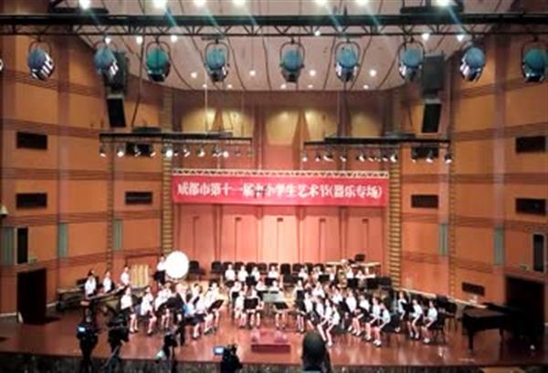 学生艺术节交响乐演奏